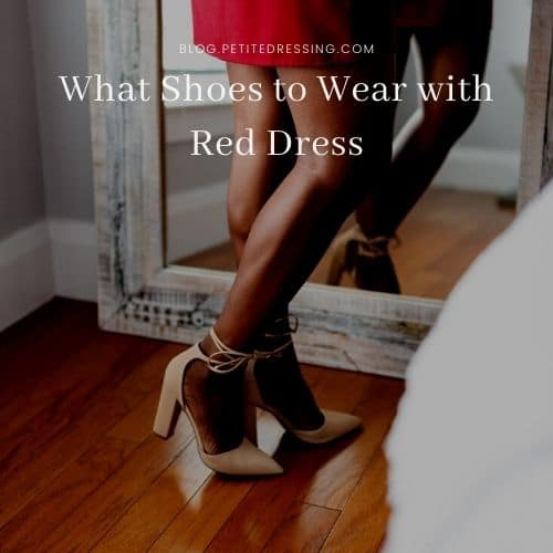 best shoes for red dresses