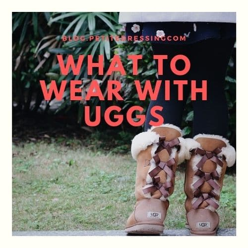 what to wear with uggs