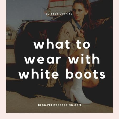 white boots outfits