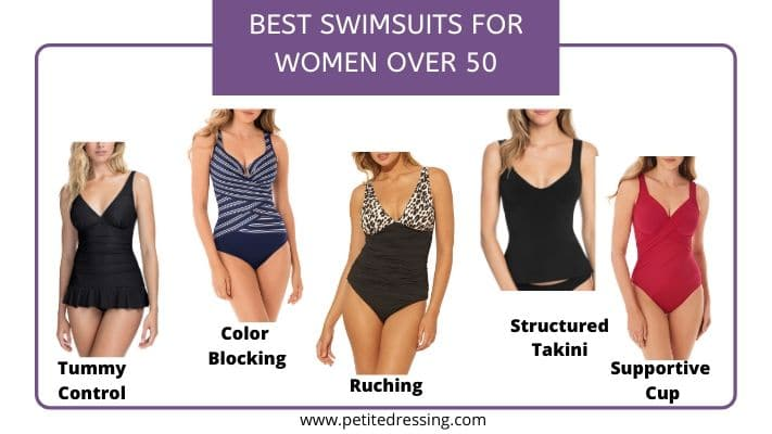 best bathing suits for women over 50