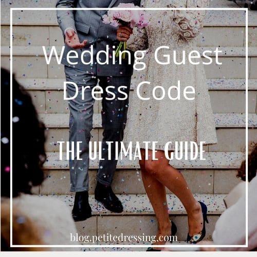 wedding guest dress code guide