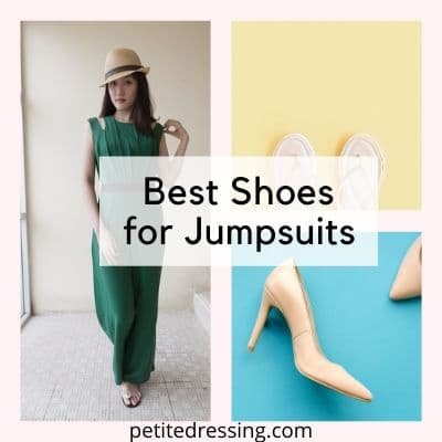 what are the best shoes for jumpsuits