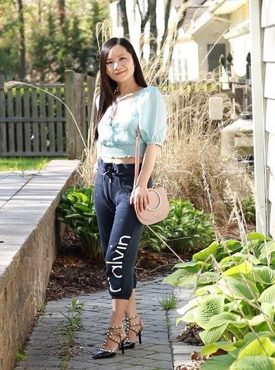 how to look good in sweatpants