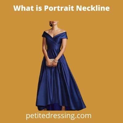 definition of portrait neckline