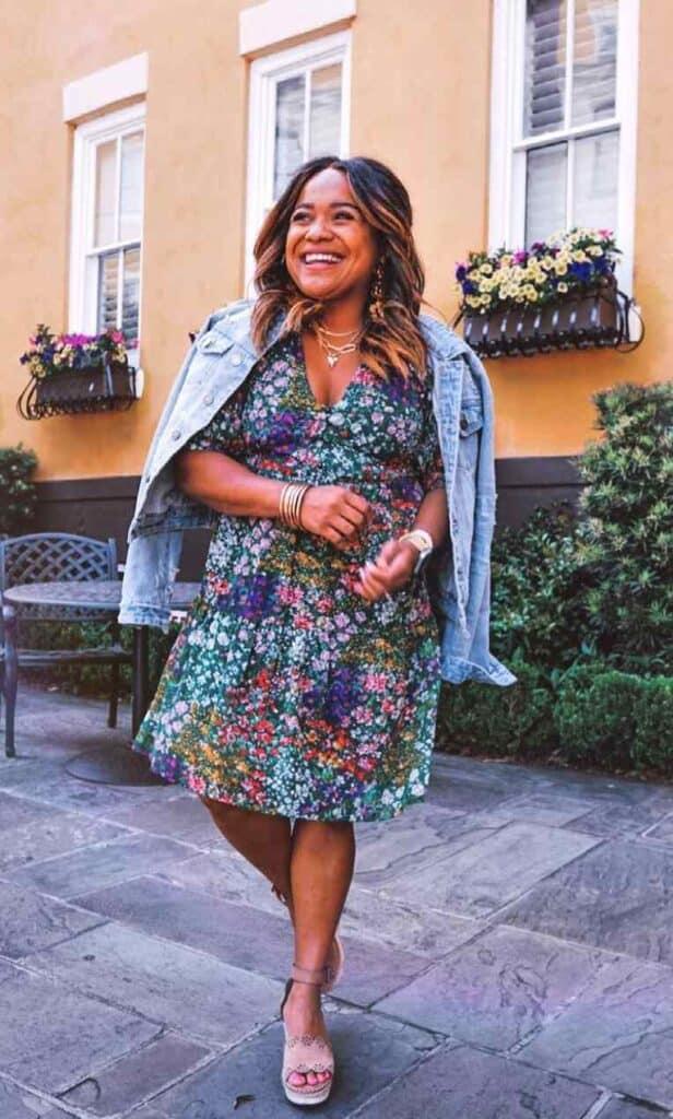 petite fashion blogger