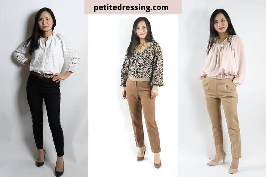 how to choose petite dress pants