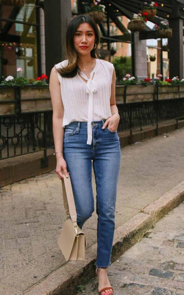 best petite fashion blogger Asian