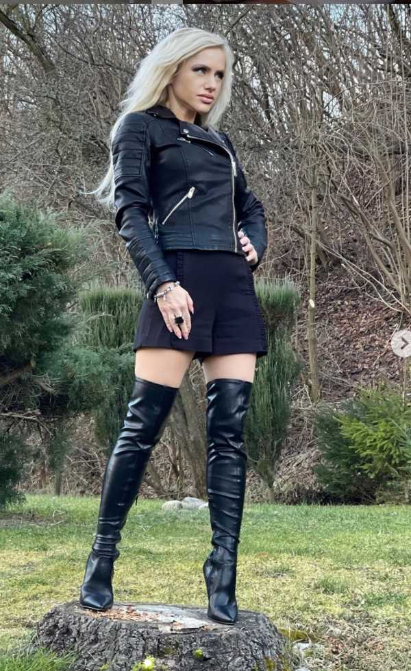 best outfits for thigh high boots