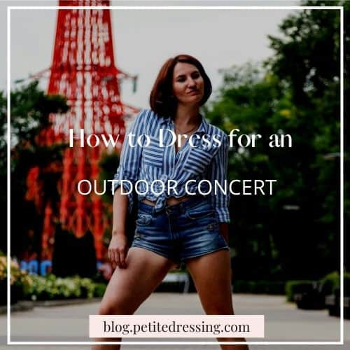 what to wear for an outdoor concert