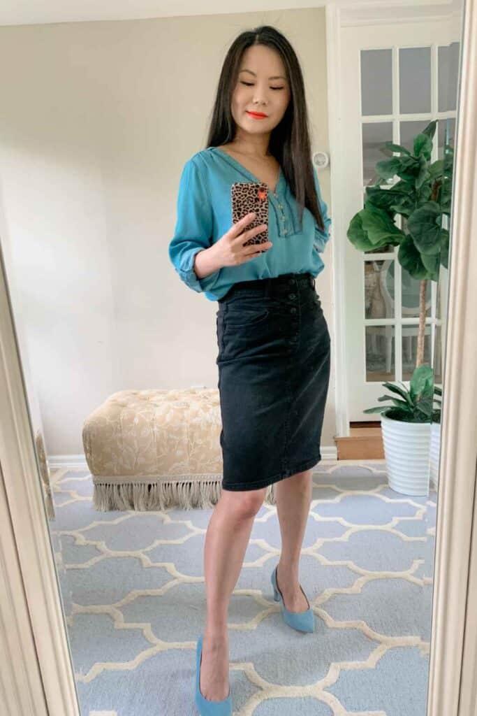 best skirts for petite girls