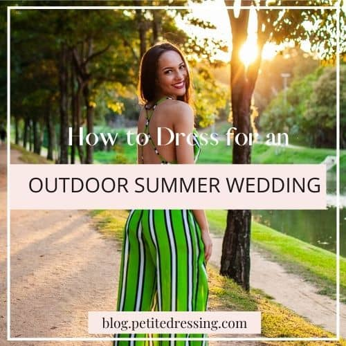 wedding guest outfits for outdoor summer wedding