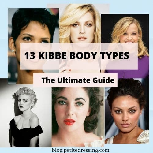 13 kibbe body types