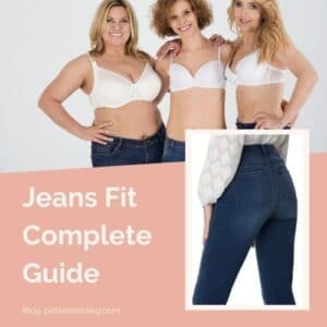 How Women's Jeans Should Fit (with Pictures)