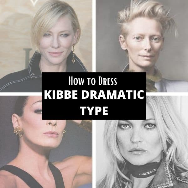 how to dress kibbe dramatic type