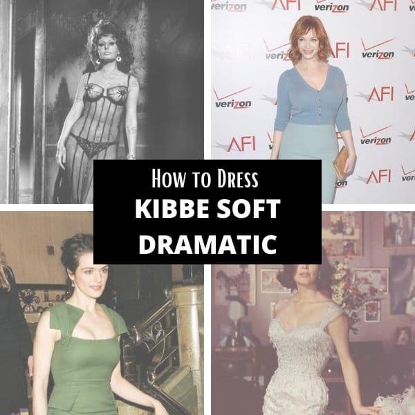 how to dress kibbe soft dramatic